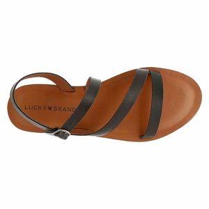 Lucky Brand Alexcia Black Sandals 7.5